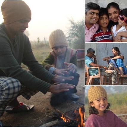 Shantanu ,Rekha, Shreya and Siddhart